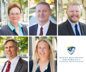 Headshots of New Named College Deans at RMUoHP